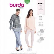 6374 Burda Pattern: Misses' Blouses